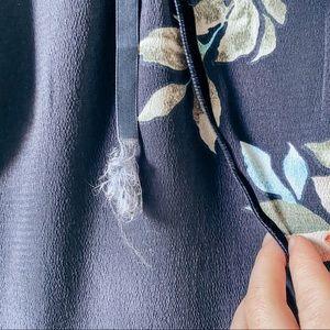 ASOS Dresses - 3/$35 ASOS Petite Skater Dress Fluted Sleeves Navy